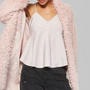 Wild Fable Empire Waist Pink Camisole